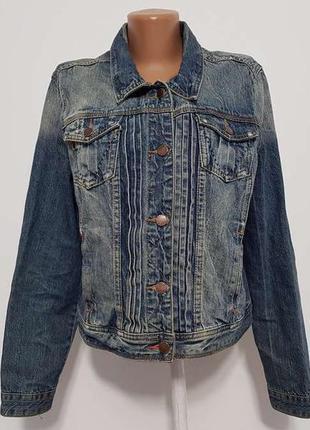 Куртка falmer heritage, джинсовая, l-xl, как новая!