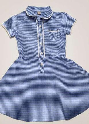 Школьная форма, платье, tu, 104 см, как новое!