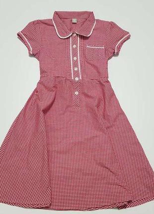 Школьная форма, платье, tu, 140 см, как новое!