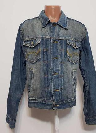 Куртка джинсовая reward germany, m, как новая!