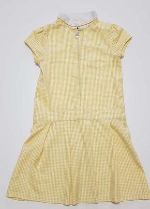 Школьная форма, платье, f&f, на 7-8 лет, сост. отличное! есть ...