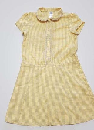 Школьная форма, платье, f&f, на 8-9 лет, сост. отличное! есть ...