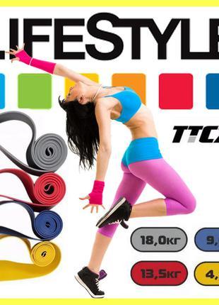Фитнес резинки TTCZ 5шт (ленты сопротивления)