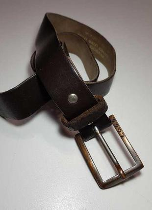 Ремень кожаный logg h&m holland, в хорошем сост.