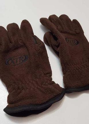 Перчатки fleece thinsulate, в хорошем сост.