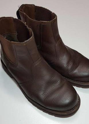 Ботинки timberland gripstick кожаные. сост. очень хорошее