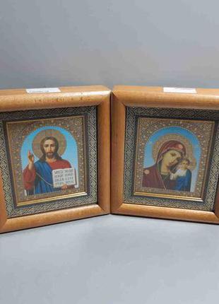 """Свадебные иконы """"Венчальная пара"""" фотопринт в деревянной рамке."""