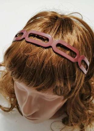 Обруч для волос каучуковый. новый!