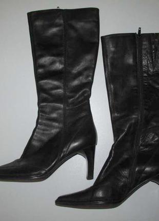 Сапоги кожаные linea zeta, 26,5 см