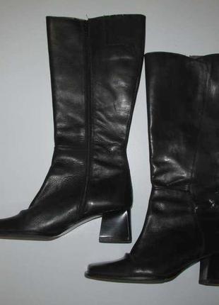 Сапоги кожаные ans, 38р. 24,5 см