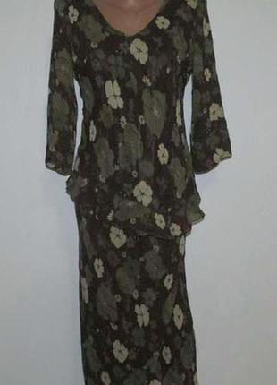 Костюм блузка + юбка , s. как новый!