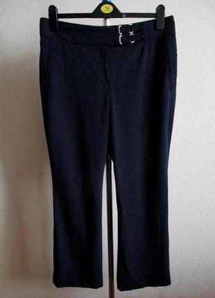 Классические темно-синие брюки marks&spencer