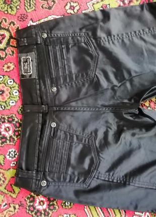 Брюки женские атласные, штаны
