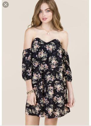 Платье бюстье francesca's