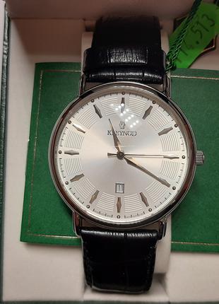 Годинник наручний чоловічий кварцовий Kleynod K 114-513