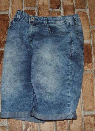 шорты мальчику джинсовые 11 - 12 лет бермуды  большой выбор