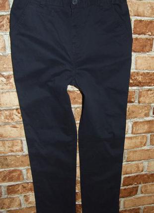 штаны джинсы синие чиносы новые мальчику 13 лет