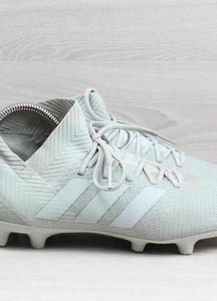 Футбольные бутсы с носком adidas nemeziz 18.3 fg, размер 38 - 39