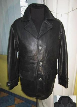 Утеплённая кожаная мужская куртка theo wormland. германия. лот...
