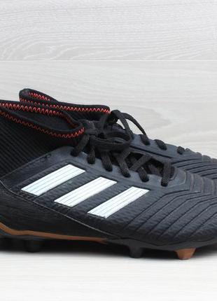 Футбольные бутсы с носком adidas predator, размер 40