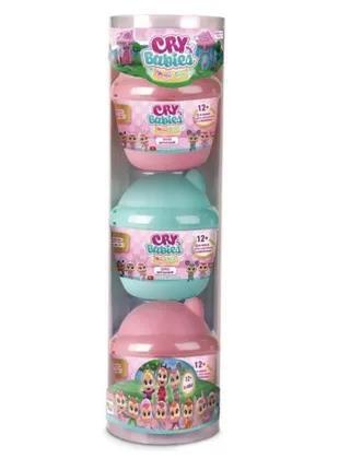 Cry Babies Набор из 3 плачущих мини кукол, можно приобрести пошту