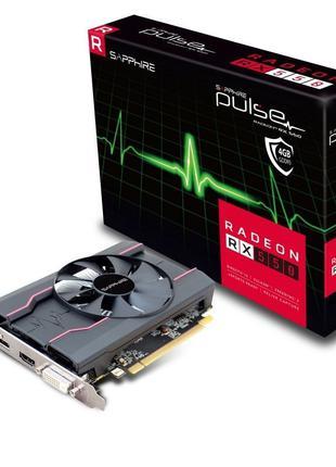 Игровая Видеокарта 4ГБ Radeon RX 550 4Гб GDDR5 Sapphire PULSE