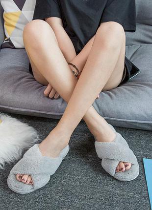 Тапочки домашние женские