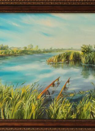 Картина. Пейзаж. Нежин-Озеро