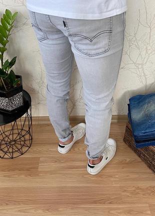 Мужские зауженные джинсы levis 511