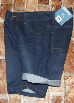 Новые джинсовые шорты мальчику бермуды 10 лет
