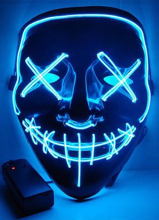 Светящаяся маска, Led маска