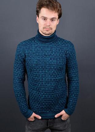 Гольф вязаный мужской new свитер под горло недорого