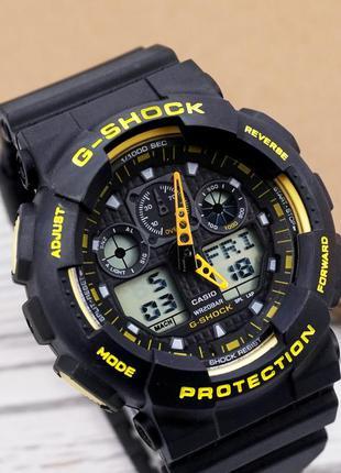 Часы наручные casio g-shock ga-100 спортивные касио джи шок не...