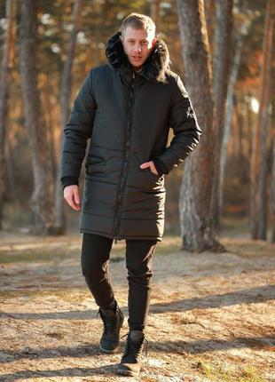 Парка зимняя оллблэк асос куртка недорого