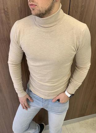 Гольф с подворотом new свитер под горло недорого