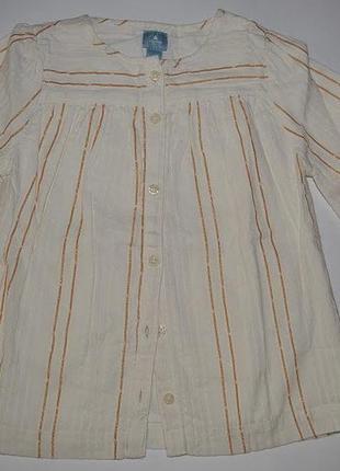 Рубашка gap. оригинал, сша. размер 5 лет (120 см)