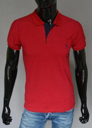 Полуприталенная футболка ralph lauren polo.купить мужское поло...