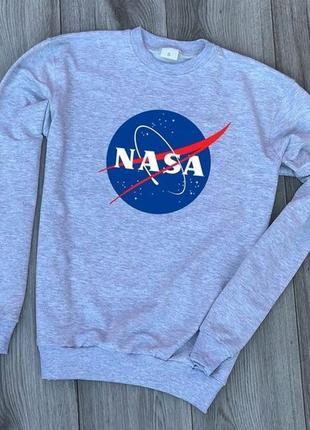 Свитшот nasa свитер недорого