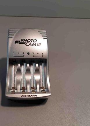 Зарядное устройство для аккумуляторов Ansmann PhotoCam III