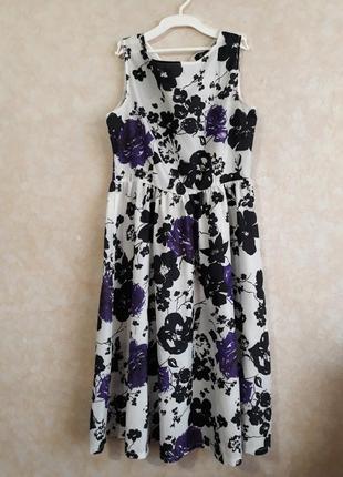 Платье ретро в стиле одри хепберн