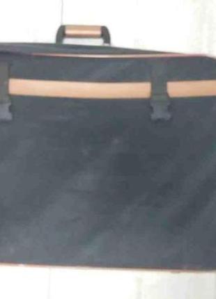 Чемодан на колесах 70х47х20 см текстиль
