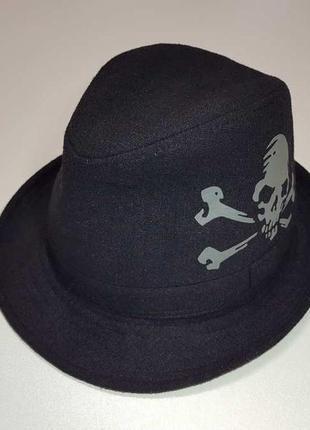 Шляпа с черепом, как новая!