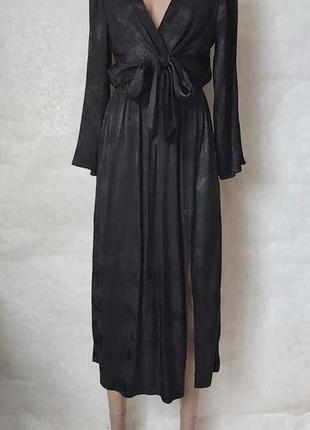 Фирменное topshop обалденное платье миди со 100% вискозы, ткан...