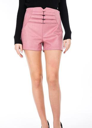 Женские шорты с высокой талией S M L