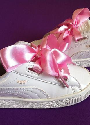 Ультрамодные кроссовки puma basket 👟 размер 26 (16,8 см )  ори...