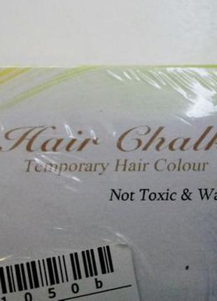 Цветные мелки для волос, 12 шт