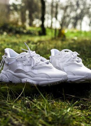 Мужские кроссовки адидас, белые весна-осень adidas white
