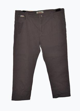 Стрейчевые джинсы скинны 7/8 большого размера