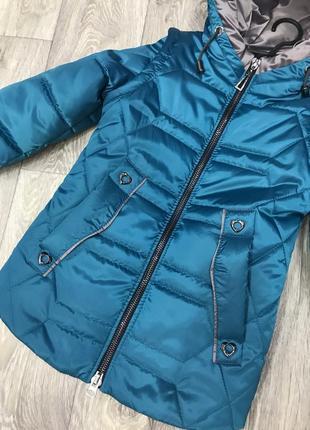 Внимание! распродажа! демисезонная куртка жилет для девочки