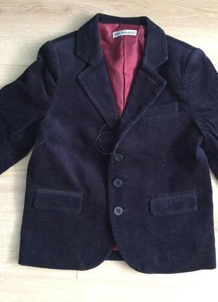 Стильный пиджак marks&spencer 3-4 года
